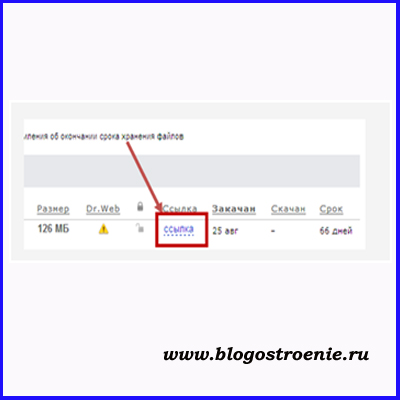 хранение и передача больших файлов