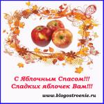 С Яблочным Спасом!!!
